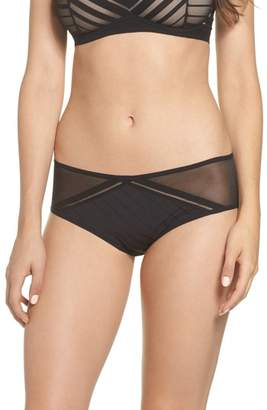 Passionata by Chantelle Sheer Stripe Hipster Briefs