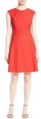 Women's Tory Burch Megan A-Line Dress $395 thestylecure.com