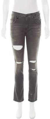 R 13 Mid-Rise Skinny Jeans w/ Tags