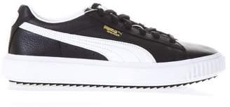 Puma Select Breaker Black Leather Sneakers