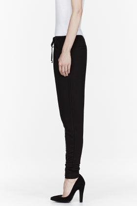 Helmut Lang HELMUT Black Villious lounge pants