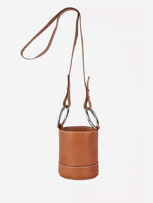 Simon Miller S801 Bonsai Mini Bag with Detachable Strap - Dark Tan