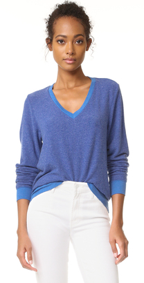 Wildfox Baggy Beach V Sweatshirt $88 thestylecure.com