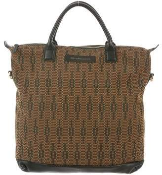 WANT Les Essentiels Leather-Trimmed Tote