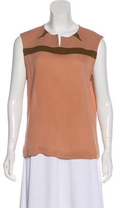 Easton Pearson Silk Sleeveless Top