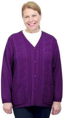 Silverts Disabled Elderly Needs Silverts Adaptive Cardigan Sweater - Disabled Clothing - XL