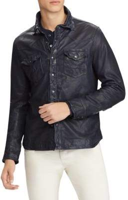 Polo Ralph Lauren Leather Shirt Jacket