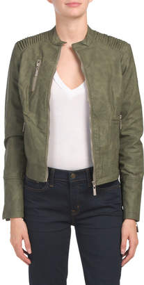 717f3ee14 Leather Jacket For Junior Girls - ShopStyle