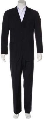 Armani Collezioni Striped Wool Suit