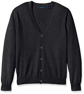 Perry Ellis Men's Jersey Knit Cardigan