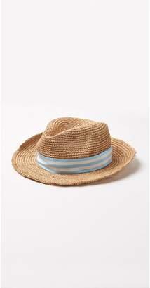 J.Mclaughlin Trinity Hat in Raffia