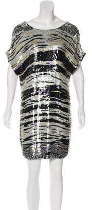 Tracy Reese Sequined Mini Dress