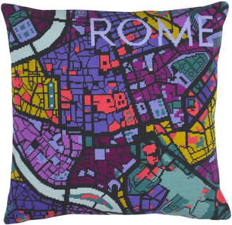 Hannah Bass Needlepoint Rome City Map Tapestry Kit