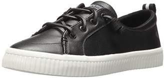 Sperry Women's Crest Vibe Creeper Leather Sneaker