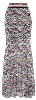Missoni Striped metallic skirt