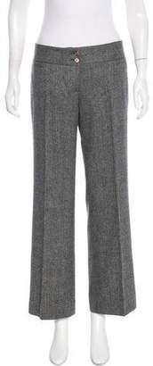 Dolce & Gabbana Herringbone Wool Pants