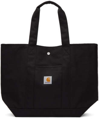 7c7f5714305 Carhartt Work In Progress Black Logo Work Simple Tote