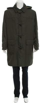 Hermes Cashmere Lined Coat