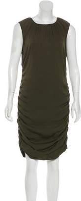 Diane von Furstenberg Silk-Blend Midi Dress