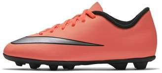 Nike Jr. Mercurial Vortex II Kids' Firm-Ground Football Boot