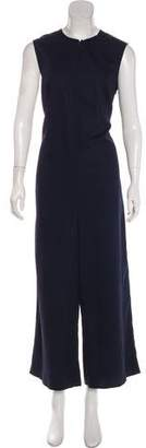 MS MIN High-Rise Flared Jumpsuit