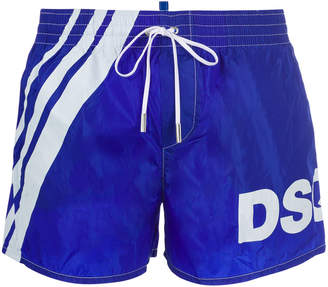 logo printed swim shorts - Blue Dsquared2 Outlet Locations Cheap Price B5GH1sce