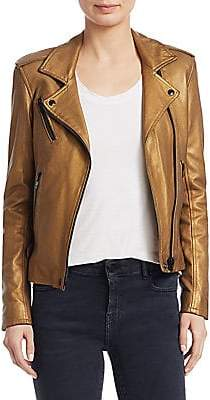 IRO Women's Newhan Cropped Leather Jacket