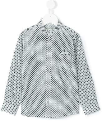 Cashmirino Mandarin collar shirt