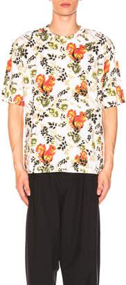 3.1 Phillip Lim Box Cut Surreal Animal Print T-Shirt