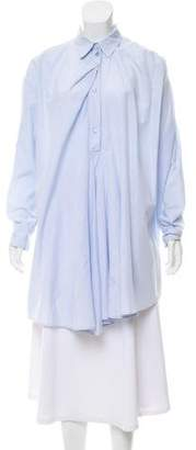 Acne Studios Long Sleeve Button-Up Tunic