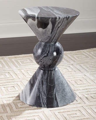 Bernhardt Jax Marble Drink Table
