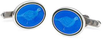 Brooks Brothers Pheasant Oval Cuff Links