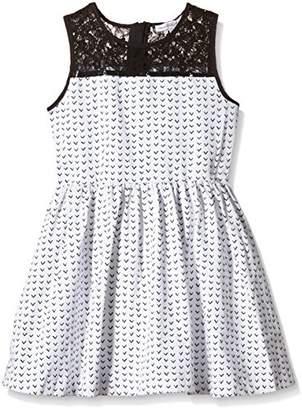 French Connection Girl's Flying V Jacquard Dress