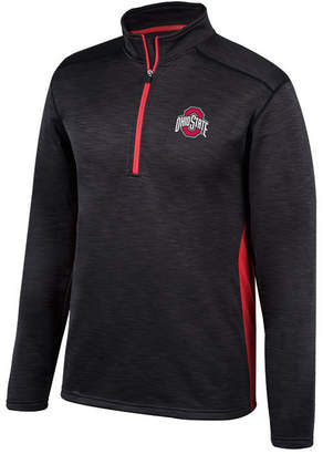 Top of the World Men's Ohio State Buckeyes Next Caliber Quarter-Zip Pullover, Big & Tall