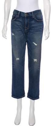 Current/Elliott Destroy Mid-Rise Boyfriend Jeans