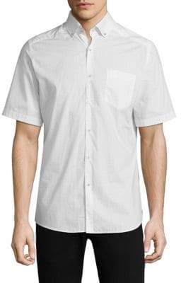 Vilebrequin Printed Cotton Button-Down Shirt