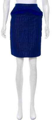Doo.Ri Silk Knee-Length Skirt