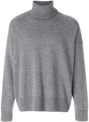Ami Alexandre Mattiussi Oversize Turtle Neck Sweater