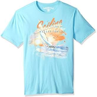 Margaritaville Men's Short Sleeve Sailing T-Shirt