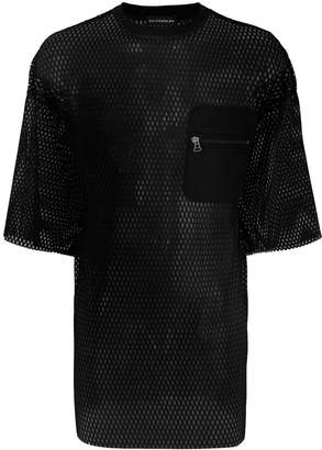 David Catalan mesh pocket T-shirt