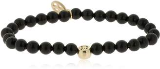 Luis Morais GOLD JERUSALEM CROSS MANTRA BRACELET
