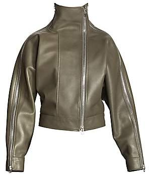 Acne Studios Women's Lorca Convertible Leather Jacket