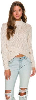 Element Allie Crew Neck Sweater $54.95 thestylecure.com
