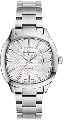 Salvatore Ferragamo Men's 'Ferragamo Square' Swiss Quartz Stainless Steel Casual Watch