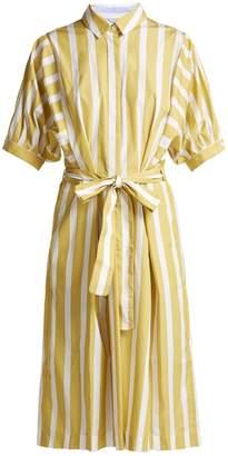 Thierry Colson Iolanda striped cotton dress