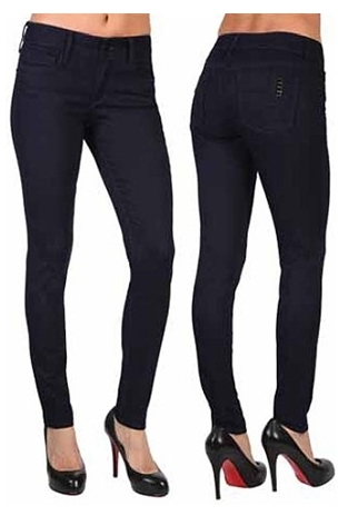 Black Orchid High Rise Jegging in Dark Night