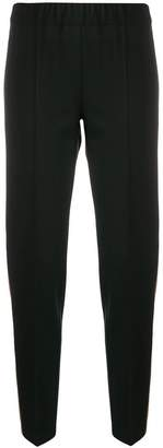 D-Exterior D.Exterior side stripe tapered trousers