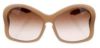 Prada Oversize Logo Sunglasses