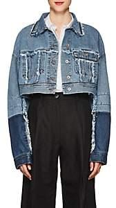 Acne Studios Women's Kremi Denim Crop Jacket - Indigo Blue