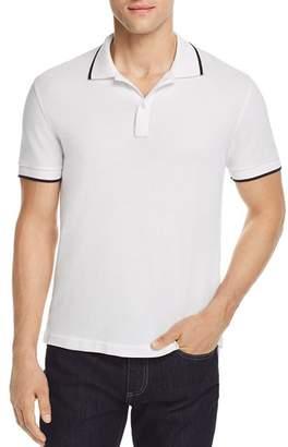 ATM Anthony Thomas Melillo Tipped Pique Polo Shirt